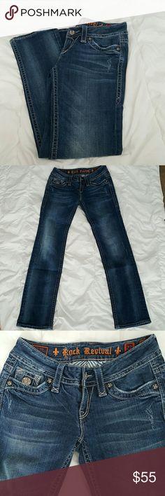 "Selling this Rock Revival ""Tori Straight"" Jeans. on Poshmark! My username is: tarakylen. #shopmycloset #poshmark #fashion #shopping #style #forsale #Rock Revival #Denim"