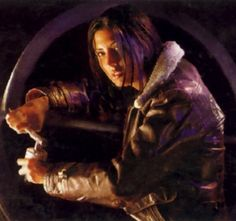 """Mirax Terrik Horn was the daughter of the smuggler Booster Terrik, wife of the Jedi Corran Horn, and mother of Valin and Jysella Horn. As their families were close, young Mirax often stayed with the Antilles family. She developed a friendship with their son Wedge, who nicknamed her """"Myra"""" When her father was finally apprehended by CorSec and sentenced to five years of hard labor on Kessel, the still underage Mirax took control of his smuggling operation."""