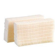 """Essick Air Products HDC2R Humidifier Wick Filter by Essick Air Products. $12.99. For Emerson Consoles #HD7002/7005 & HD#5000,. Chemically Treated To Help Prevent Bacteria Growth.. Exclusive Trapmax Filtration System. """"Emerson"""" 2 Pack, Replacement Moistair Wicking Humidifier Filter. Traps Water Minerals & Dissolved Solids Before They Become Airborne. Trapmax filter effectively traps water minerals and dissolved solids before they become airborne or build up on inside of cabine..."""