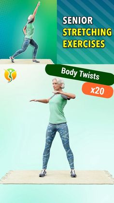 Gym Workout For Beginners, Fitness Workout For Women, Sport Fitness, Workout Videos, Stretching Exercises For Seniors, Yoga For Seniors, Stretches, Pooch Workout, Walking Exercise