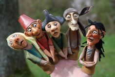 Finger puppets; these finger puppets actually look fairly decent to me, they look so adult for puppets, it's fantastic