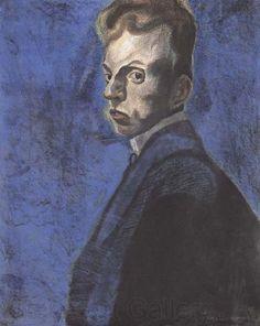 Walter Richard Sickert (1860–1942), Self-portrait.