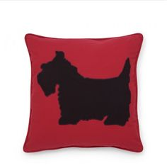 Scotty pillow cover