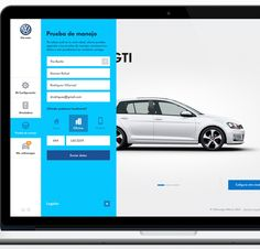 Volkswagen - Car configurator Website by Sindy Ethel