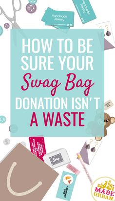 Most business cards and flyers will be thrown in the trash. What to donate to craft show swag bags that will bring your customers and help you make sales Business Cards And Flyers, Swag Ideas, Selling Handmade Items, Vendor Events, Swag Bags, Craft Show Ideas, Craft Business, Business Tips, I Can Do It