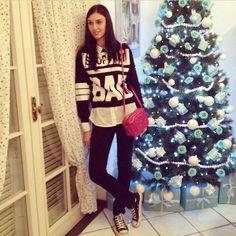 Shopart sweater  Gucci disco bag #marilenaguadalaxara