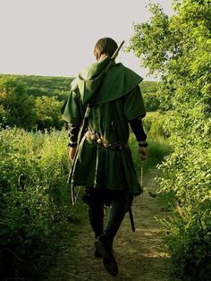 And that was it. Not a single word was uttered. Not a single gesture given or taken. He just put on his cloak, sheathed his sword, and set his boots on the distant trail. And he never looked back. - EH