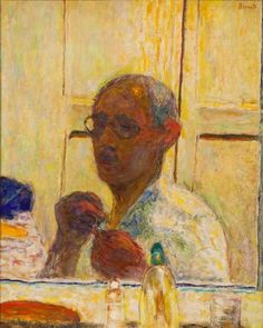 An image of Self portrait by Pierre Bonnard