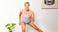 Sykkeet nousevat ja rasva palaa lyhyelläkin setillä. Basic Tank Top, Health Fitness, Exercise, Workout, Tank Tops, Women, Training, Sports, Fashion
