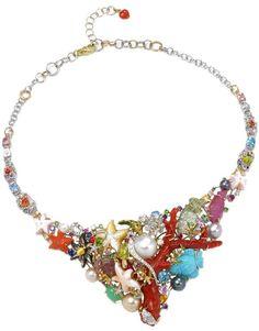 Caribbean Reef, i gioielli ispirati al mare. Collier by Santagostino.