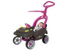 294c3d6bf6a6a8 Mini Carro a Pedal Infantil Smart Baby Comfort - Bandeirante com as  melhores condições você encontra