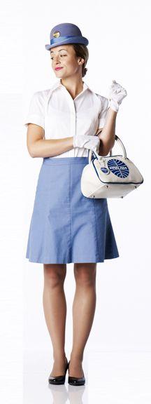 Make your own PanAm Flight Attendant Costume