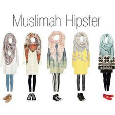 Hijab Fashion 2016/2017: Sélection de looks tendances spécial voilées Look Descreption Hijab fashion - Somehow, give it a try.