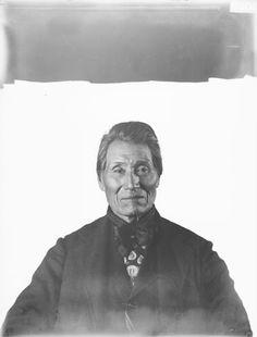 Snor-Psula (aka No More Ashes, aka Barnaby) - Colville/Salish - 1905. My great-great grandfather.