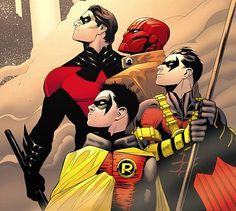 Tutti i Robin della storia di Gotham city