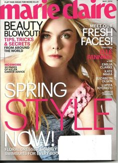 May 2014 cover with sixteen-year-old Elle Fanning