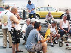 Hong Kong VALUUN Daily-ish pic Beijing locals chatting