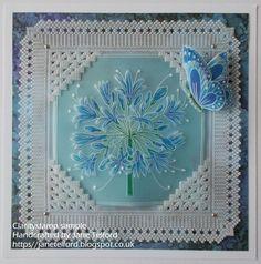 Parchment Cards, Paper Cards, Lily, Plates, Crafts, Inspiration, Decor, Paper Art, Stuff Stuff