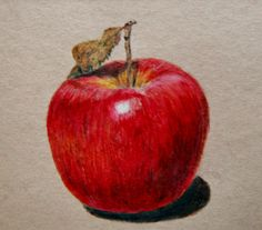 Apple Drawing by ~emueller on deviantART