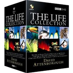 We take a look inside David Attenborough's Life Collection DVD Box Set. We also compare prices at over 40 DVD retailers and present you with teh lowest prices for the Life Collection Box Set. David Attenborough, Birthday Interview, World Tv, 1 Gif, The Lives Of Others, Me Tv, Tk Maxx, Science Education, The Life