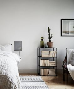 Relaxed Living In True Scandi Style   Interesting Detail: Putting The Open  Side Of The Book Facing Out. It Actually Creates A Unifying Look. Minimalist  ...
