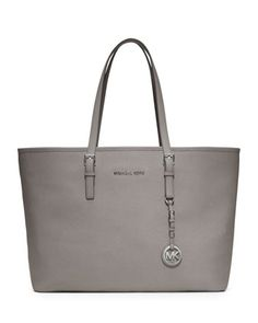 MICHAEL Michael Kors  Medium Jet Set Saffiano Travel Tote. $298