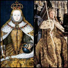 Queen Elizabeth I (Cate Blanchett) 'Elizabeth' 1998. The 'Coronation' costume designed by Alexandra Byrne.