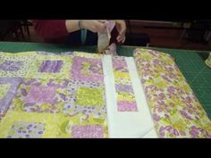 """A Quilt Made for the Garden of Eden!  Requires one charm pack and one jelly roll and some yardage for borders.  This quilt has four borders (one is pieced from remaining jelly roll pieces) and finished measurement is 71"""" x 81""""."""