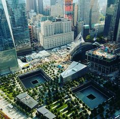 9/11 Memorial by manhattan-madison-avenue - The Best Photos and Videos of New York City including the Statue of Liberty, Brooklyn Bridge, Central Park, Empire State Building, Chrysler Building and other popular New York places and attractions.