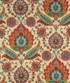 Covington Izmir Vintage Rose Fabric - $18.35 | onlinefabricstore.net