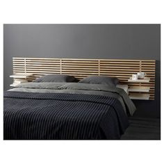 over bed table ikea / over bed table & over bed table on wheels & over bed table diy & over bed table ikea Zen Furniture, Furniture Near Me, Bedroom Furniture, Furniture Design, Ikea Bedroom, Home Bedroom, Ikea Mandal Headboard, Head Boards, Bed Storage