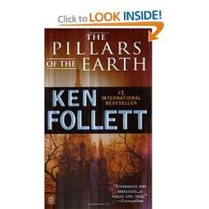Pillars of the Earth.  Very good book!!   now I look at buildings / architecture with much more interest.