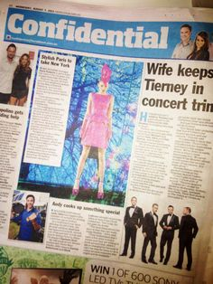 HOHB PRESS  7.8.13 www.heraldsun.com.au - the stunning Paris Roberts! Hair by HOHB's Kieran Harris for the 2013 Stonnington Spring Fashion Runway/campaign shoot #parisroberts #Melbourne #fashion #springracing #stonningtonfashionrunway #headingouthairandbeauty #hohb #heraldsun