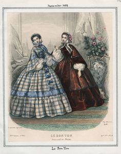 1859 (Nov.) Le Bon Ton / Los Angeles Public Library
