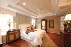 A beautiful bedroom at Sajo Farm #virginiabeach #newhomes