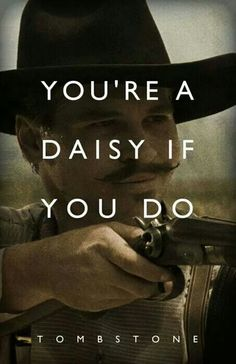 You're a daisy if you do
