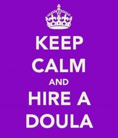 I will NEVER regret my decision to hire a doula.  Labor is scary (the unknown always is).  She gave me peace of mind, and continues to be a resource for any questions I have.