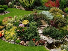 Wszystko o ogrodnictwie: Skalniak w ogrodzie