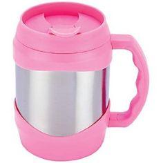 52oz Stainless Steel Oversized Mug (Pink / Silver)