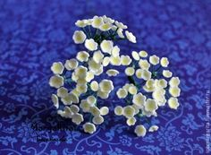 Полевые цветы из фоамирана - Ярмарка Мастеров - ручная работа, handmade