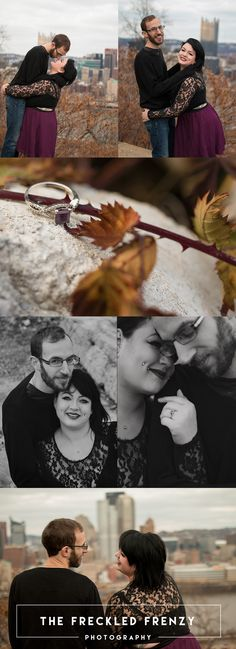 Pittsburgh Engagement Session | Mt Washington | The Freckled Frenzy |  #engagement #engagementPhotography #InLovePhotography #IntimatePhotography #RomanticPortraits #LifestylePhotography #MonderPortraits