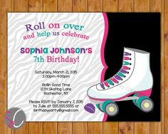roller skate party - Buscar con Google