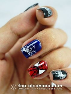 Who Wants To Get These Superhero Nail Arts? | Stylish Board