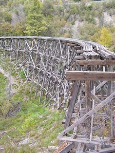 old railway in Ruidoso, New Mexico