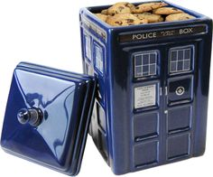 Doctor Who - Tardis Ceramic Cookie Jar by Wesco - TV / Movie - Dr. Who - - Buy Collectables, Action Figures, T-Shirts, True Blood & Pop Culture Merchandise from Popcultcha Australia