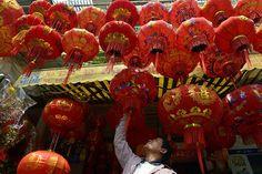 Chinese New Year 2013: Chinese New Year Lanterns, Cambodia