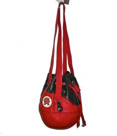 Maryland Drawstring Shoulder Bag by Red 24 Sports Purses.  Buy it @ ReadyGolf.com