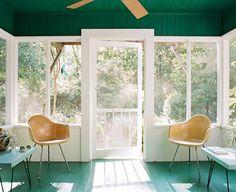 gold and green bohemian modern decor / sfgirlbybay