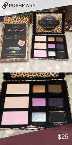 NIB Too Faced Cat Eyes Pallet Came in my mystery bag, but I already own it. Never touched. Price is firm. Bundle for further discounts. NO OFFERS, NO TRADES. I video outgoing orders for our protection. Too Faced Makeup Eyeshadow