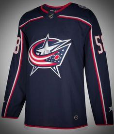 Columbus Blue Jackets Premier Adidas NHL Home & Road Jerseys